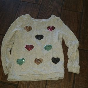Carters sweatshirt for little girls
